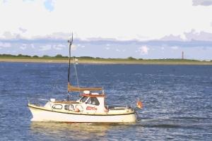 Boot vor Norderney